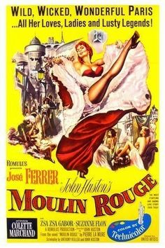 Moulin Rouge (1952) Jose Ferrer, Zsa Zsa Gabor