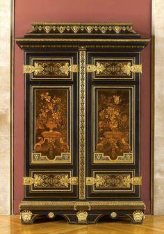 André-Charles BOULLE - Armoire - Louvre (LOUIS XIV)