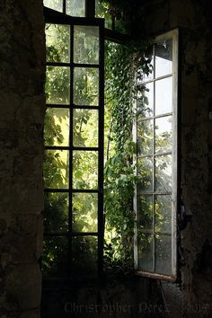 Abandoned Places ~ Fenetre Ouverte | by Christopher Mark Perez