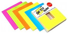 Switch Notes - desk accessories - by SUCK UK