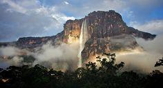 Angel Falls Venezula by ronbrinkmann, via Flickr