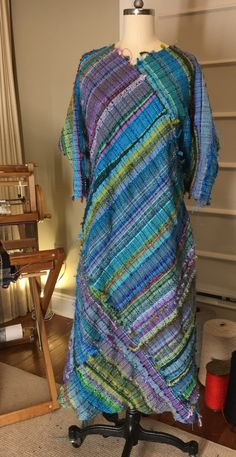 Hautemade...Making a poncho, but wanted to be a dress!
