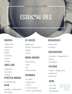 Pregnancy + Labor + Postpartum Oils ALL IN ONE! What's with all the fuss about essential oils? If you take a closer look into what essential oils are, you will find that they are actually quite brilliant. The purest essential oils are extr… Essential Oils For Nausea, Essential Oils For Pregnancy, Young Living Essential Oils, Essential Oils To Avoid While Pregnant, Essential Oils For Babies, What Are Essential Oils, Doula, Pregnancy Labor, Pregnancy Nutrition