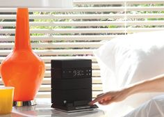 Wireless speaker and charging station, meet the alarm clock. This is the beginning of a beautiful ménage à trois. Soundfreaq, $79.99 Wireless Speakers, Bluetooth, Alarm Clock, Geek Stuff, Meet, Apple, Beautiful, Projection Alarm Clock, Geek Things