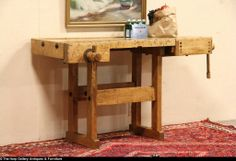 old kitchen 1910 | Carpenter 1910 Workbench, Wine Tasting Table or Kitchen Island from ...