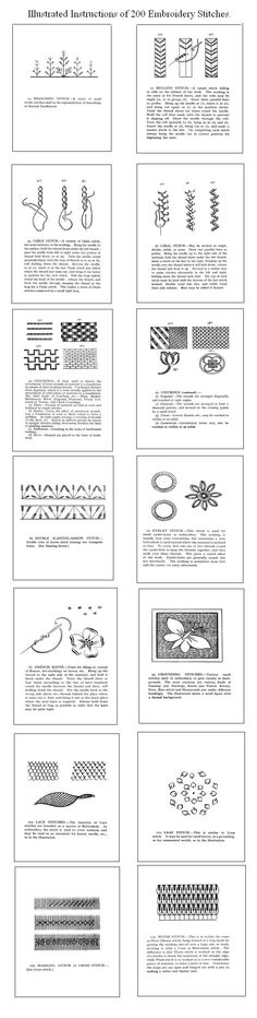 200 Antique English Embroidery Patterns Designs Lessons | eBay  $12.99.....  Gotta think about this.