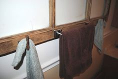 chores and chandeliers : towel holder
