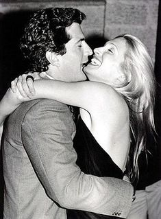 JFK Jr. and Caroline