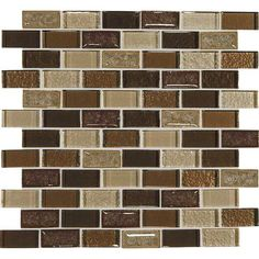 Crystal Shores Copper Coast Shower accent wall tile