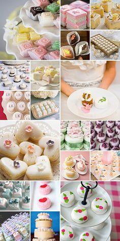 wedding petit fours                                                                                                                                                     More