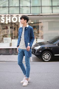 2017 Stylish Men's Outfit Ideas With Denim  http://www.ferbena.com/2017-stylish-mens-outfit-ideas-with-denim.html