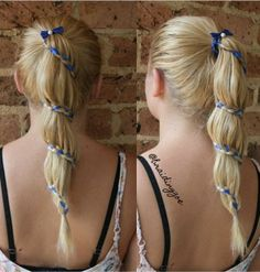 Ribbon carousel braid