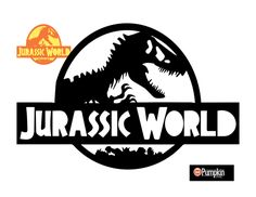 New and free Jurassic World Pumpkin Pattern. Cut out the white areas and you are left with an awesome pumpkin to show off to the trick or treaters. Halloween Pumpkin Stencils, Halloween Pumpkins, Halloween Decorations, Holidays Halloween, Halloween Party, Halloween Ideas, Halloween 2018, Pumpkin Carving Patterns, Pumpkin Carvings
