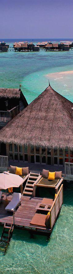 Luxury resort on North Male Atoll • #travelnewhorizons