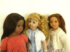 """Maru and Friends"" dolls. Raven, Jamie and Tanya"