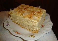 Prajitura cu crema de vanilie este o prajitura facuta in casa, foarte delicioasa. Este usor de preparat si musafiri vor fi cu siguranta incantati.    Prajitura cu crema de vanilie     Salvare Tiparire     Timp preparare  45 mins    Timp gatire  40 mins    Timp total  1 Ora 25 mins   &nb Pie Recipes, Cooking Recipes, Romanian Food, Romanian Recipes, Sweet Bread, Vanilla Cake, Sweets, Homemade, Cream