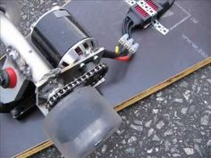 DIY electric skateboard 1 - YouTube
