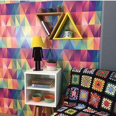 Pra suspirar arco-íris com a Tadah! 🌈 www.tadah.com.br #tadahdesign #madeiramaciça #decoracao #decor