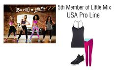 """5th Member of Little Mix - USA Pro Line"" by daniellemalik1234 ❤ liked on Polyvore featuring art, littlemix, jadethirlwall, JesyNelson, perrieedwards and LeighAnnePinnock"