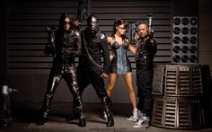 Black Eyed Peas album photo shoot wallpaper music and dance wallpapers Jennifer Hudson, Tyga, Snoop Dogg, Shakira, Black Eyed Peas Albums, Bad Boys, Bobs, Hiphop, Pump It