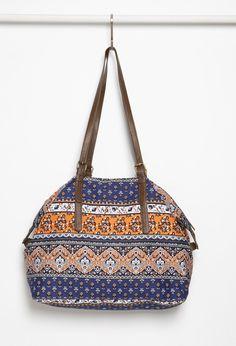 Floral Print Weekender Bag | Forever 21 - 1000076860