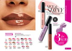 #Avon #Glazewear lip gloss, #TrueColor #eye #shadow, Pro+ nail enamel and #MosaicEffects top coat, and all #Glimmersticks are 3 for $8.99!! Mix & match! Place your order at www.youravon.com/ncwalker210