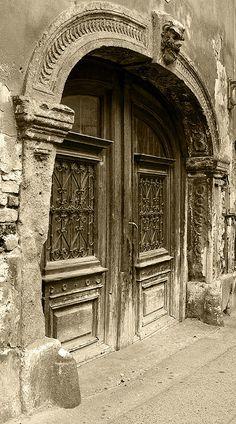 Doors of Zagreb, Old Vlaška Street, Zagreb, Croatia