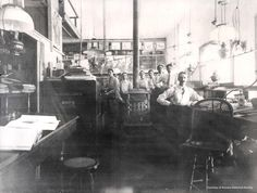 The mercantile store in Clifton, AZ in 1893.