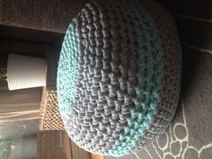 Crocheted puff