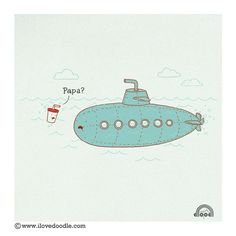 Papa? by ILoveDoodle, via Flickr