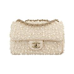 Chanel Pearl Flap Bag in Ivory - $14200
