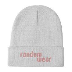 beanie style hat at randum wear apparel fashion brand styles winter hat