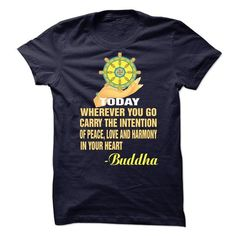 Buddha today T Shirts, Hoodies. Get it here ==► https://www.sunfrog.com/Funny/Buddha-today.html?41382 $19