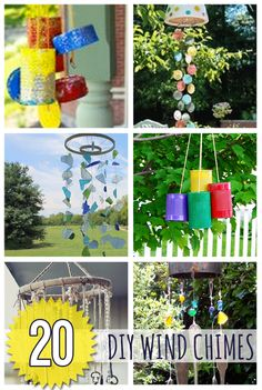 20 DIY Wind Chimes @savedbyloves outdoordecor