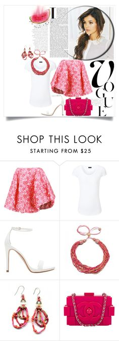 """""""Wardrobe Staples... Spring Blossom"""" by captainsilly ❤ liked on Polyvore featuring Simone Rocha, Joseph, Zara and Chanel"""