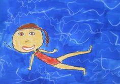 Collages, Ecole Art, Art Plastique, Tinkerbell, Summer Time, Underwater, Kindergarten, Disney Characters, Fictional Characters