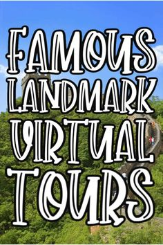 8 Famous Landmark Virtual Tours to take From your Couch Stuck in the house and the travel bug is biting you bad then you are going to LOVE these Famous Landmark Virtual Tours that you can take right from home! Home Learning, Learning Activities, Free Activities, Virtual Travel, Virtual Tour, Virtual Field Trips, Educational Websites, Famous Landmarks, Home Schooling