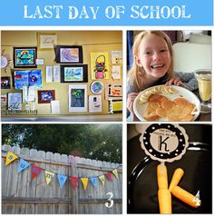 Here are some great Last Day of School Traditions you can start at your home. We love the surprise Art gallery idea. Did you save all their artwork this year?
