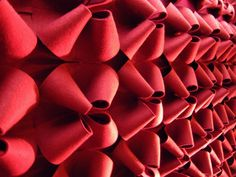 LOOP sound absorbing panel by Anne Kyyrö Quinn materials