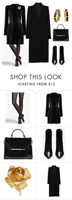 """Blk Sheath Dress Day Business Look"" by irdstyles ❤ liked on Polyvore featuring Express, Warehouse, Ted Baker, Yves Saint Laurent, Christian Dior, Alexander McQueen and Bling Jewelry"
