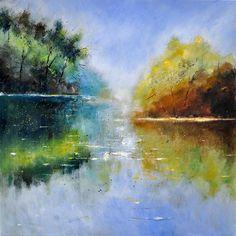 Pond 882121 - Pol Ledent's paintings