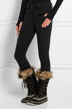 Perfect Moment | Aurora Skinny stretch-twill ski pants | NET-A-PORTER.COM