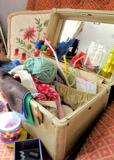 some ideas for a kid's sewing box- things I hadn't thought of- might be good for the 5 yr old