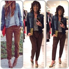 Ootd, outfit, Leather pants, , s