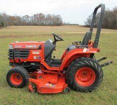 image 1 Kubota Tractors, Lawn Mower, Outdoor Power Equipment, Image, Lawn Edger, Grass Cutter, Garden Tools