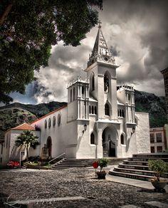 Una maravillosa imagen de la Iglesia de La Luz (Los Silos) Tenerife - foto de María Pérez