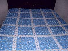 colcha de fuxico cama de casal com tecido de algodão, feito com 5.000 fuxico.