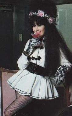 Rose McDowall - 1985 Strawberry Switchblade Japanese Tour
