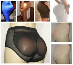 Natural Looking Silicone Butt Enhancer With Booty Lift And Shaper