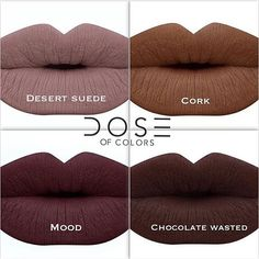 Dose of colors chocolate wasted liquid lipstick Dose Of colors - Chocolate wasted liquid lipstick Dose of colors Makeup Lipstick Kiss Makeup, Love Makeup, Makeup Inspo, Hair Makeup, Makeup Lipstick, Makeup Ideas, Lipstick Shades, Lipstick Colors, Lip Colors
